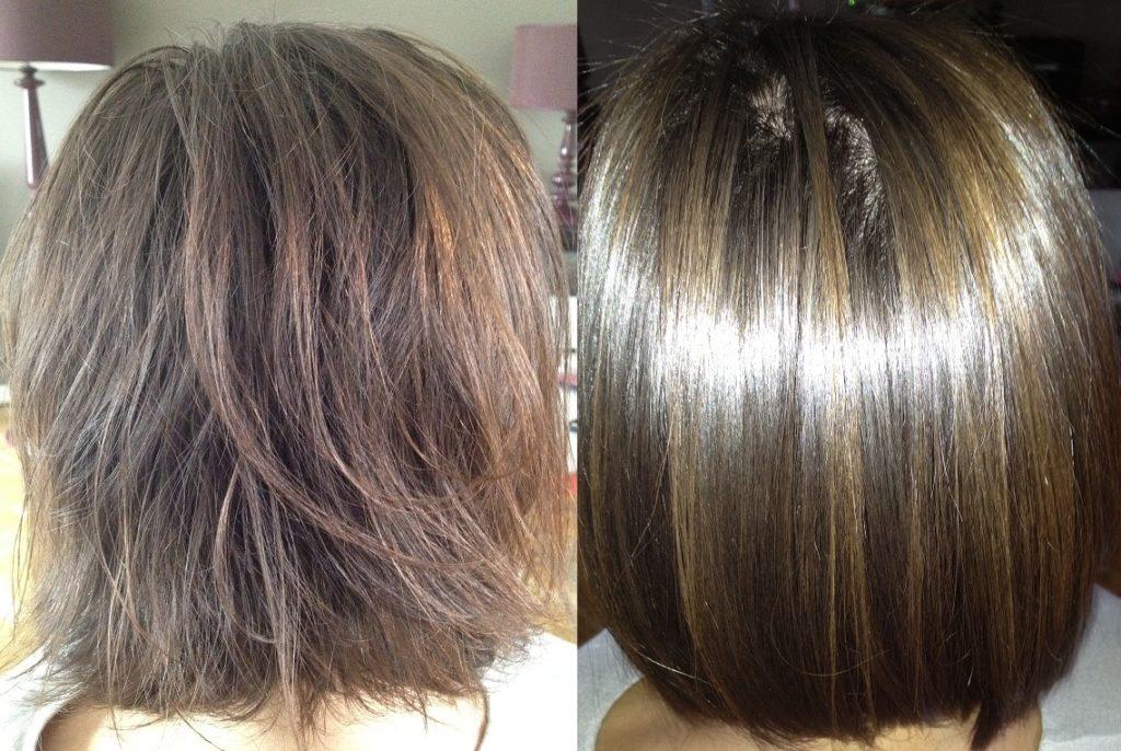 Keratine spray pour cheveux