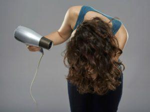 Technique séchage de cheveux